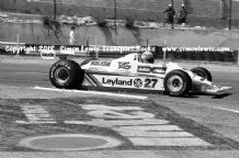 Williams FW07B. Alan Jones. Photo.  1980 French GP F1 (winner)